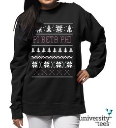 Comfy and cozy | Pi Beta Phi | Made by University Tees | www.universitytees.com