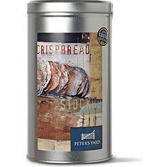 Peter's Yard ...Artisan Crispbread (300g - standard size tin). Foodies, Tin, Biscuits, Drinking, Artisan, Yard, Mugs, Shopping, Drinks