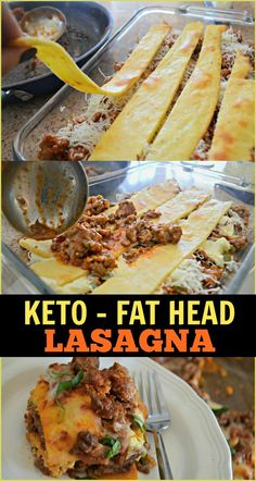 Keto Fat Head Lasagna - - Keto Fat Head Lasagna This Keto Lasagna Recipe is Made with Fat Head Noodles Rocio M. saved to Stay Keto Lasagna Recipe is Made with Fat Head Noodles 15 Easy Low Carb Dinner Ideas From a healthy morning meals (breakfast) and dinn Keto Crockpot Recipes, Ketogenic Recipes, Healthy Recipes, Ketogenic Diet, Keto Pasta Recipe, Meal Recipes, Recipes Dinner, Ketosis Diet, Pescatarian Recipes