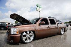 Battle Drag 2013 Custom Truck Show 001 Slammed Chevrolet Silverado