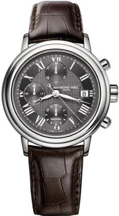 Raymond Weil Mens 'Maestro' Watch 7737-STC-00609