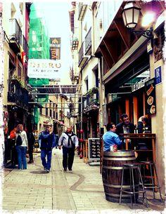 Logroño. Bar La Fontana.