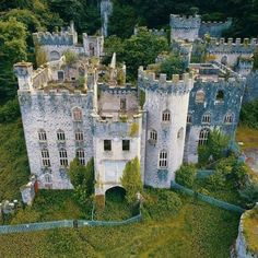 Gwyrch castle, Wales