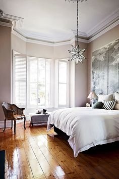 Love the shutters and the fun light fixture! Anya Adores: interiors