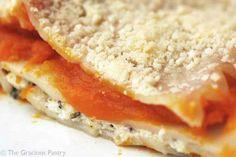 Clean Eating Butternut Squash Lasagna