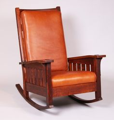Extremely rare L&JG Stickley Bentarm Rocker Craftsman Style Furniture, Mission Style Furniture, Craftsman Decor, Craftsman Homes, Furniture Plans, Cool Furniture, Furniture Design, Wooden Furniture, Sand Crafts