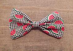 Watermelon Slice Hair Bow