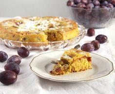 awesome Turmeric Plum Cake Check more at http://www.foodiehalt.com/turmeric-plum-cake/
