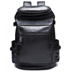 Trendy Zipper and Black Colour Design Men's Backpack #>=#>=#>=#>=#> Click on the pin to check out discount price, color, size, shipping, etc. Save and like it!