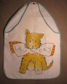 Vtg Vogart Tinted Embroidered Laundry Bag Scottie Scotty Dog   eBay