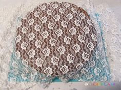 Easy Decorating Cake Tutorial with lace!