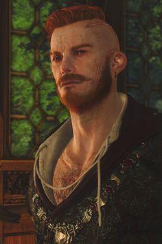 "Olgierd von Everec from ""Hearts of Stone"", ""The Witcher"" (polish game - ""Wiedźmin"") Olgierd Von Everec, The Withcer, Witcher Art, Wild Hunt, Game Character, Best Games, Hearts, Statue, Character Design"