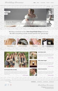 Wedding design, free PSD