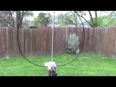 DIY Man Portable Magnetic Loop Antenna Beginners Build for Ham Radio - YouTube