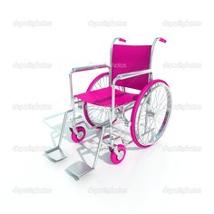 Dream.... To have a pink wheelchair.