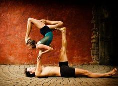Acroyoga... i want to learn how to do this! thank you @Kellie Lynch for introducing me to this!