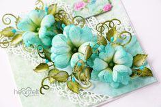 Create beautiful foam flowers the EZ way with the Art Foam Paper - Heartfelt Creations