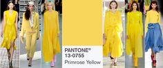 Kolory na wiosnę 2017: PANTONE 13-0755 Primrose Yellow