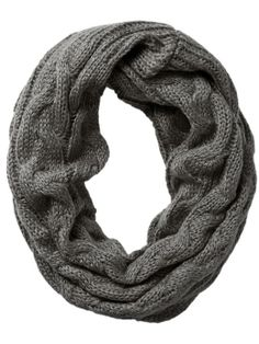 chunky sweater knit scarf / spun by subtle luxury