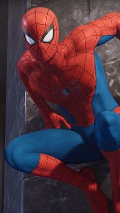 Classic Spider Man Costume From Spider Man Amazing Spiderman, Spiderman Classic, Spiderman Art, Spiderman Costume, Marvel Art, Marvel Heroes, Marvel Avengers, Man Wallpaper, Marvel Wallpaper