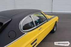 A Perana Ford Capri thats a long way from home The Motorhood Ford Capri, Fast Sports Cars, Sport Cars, Mustang V8, Holden Monaro, Car Racer, Ford Escort, Ford Gt, Classic Cars