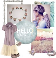 """""""hello adventure"""" by summersdream ❤ liked on Polyvore"""