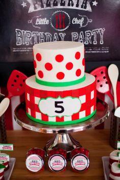 Pierson's Pizzeria! Little Chef Pizza Birthday Party - Anders Ruff Custom Designs