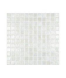 Madrid White Lustre Anti-Slip Mosaic Tile