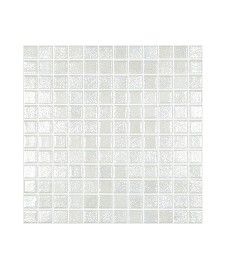 Madrid White Lustre Anti-Slip Mosaic