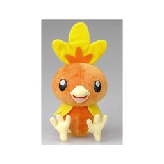 "Official Nintendo Pokemon Diamond Pearl Plush Stuffed Toy 14"" Torchic... ❤ liked on Polyvore featuring stuffed animals and pokemon"