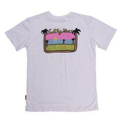 Palm Beach Tee @salty_shoes only 2 left  Shop link in bio  #mensapparel #streetwear #surfwear #tees #sun #sale