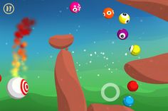 Free the Gluddle from The Supervision in this eyecatching oddball bouncy game for iPhone and iPad! Oi!