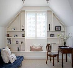 Nice 45 Extraordinary Attic Room Design Ideas. More at https://trendhomy.com/2018/06/28/45-extraordinary-attic-room-design-ideas/