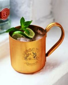 Moscow Mule Recipe yummmm, the history on this drink is great!