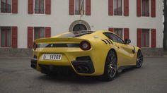 INSANE! Chris Harris Drives The Ferrari F12 TDF - Top Gear