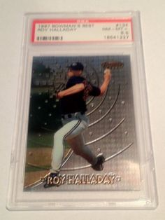 1997 Roy Halladay Rookie Bowman's Best #134 PSA Graded 8.5 NM-MT+ by Bowman. $74.99. PSA Graded 8.5 NM-MT+. Great rookie from a future Hall Of Famer. Free First Class Shipping Upgrade.