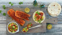 Fisketaco med salsa