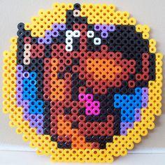 Scooby-Doo hama perler beads