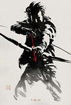 """Quatro novos cartazes do filme """"Wolverine – Imortal"""" http://cinemabh.com/imagens/quatro-novos-cartazes-do-filme-wolverine-imortal"""