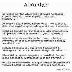 #acordar #danflorez #poesia #seteversos #vidainsana #temposmodernos #proletario #trabalho #autoral #creativecommons
