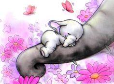 elephant drawing mom and baby Baby Elephant Drawing, Mom And Baby Elephant, Elephant Love, Elephant Art, Elephant Tattoos, Elephant Nursery, Nursery Art, Illustration Mignonne, Cute Illustration