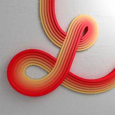 Creative 3D Typography by Alejandro López Becerro