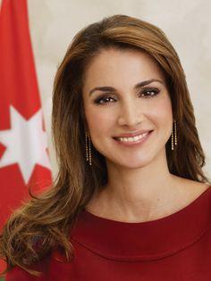 "Queen Rania of Jordan. ""Beauty is the shining light in your heart ❤️ that illuminates our world ."" - Deodatta V. Shenai-Khatkhate"