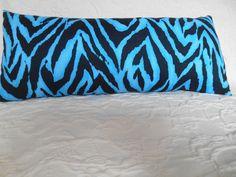 L51 1 Lumbar Travel or Neck   Zebra Print by NoveltyPillows4All, $18.00