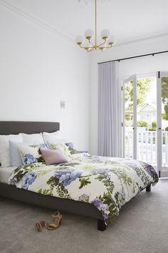 LITTLE WILLOW — Adore Home Magazine Bedroom Storage, Bedroom Sets, Master Bedroom, Bedrooms, Bedroom Decor, King Furniture, Furniture Design, Royal Oak Floors, Diy Blinds