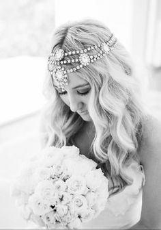 Bo and Luca Hera Headpiece #boandluca #boandlucabride #wedding #heraheadpiece