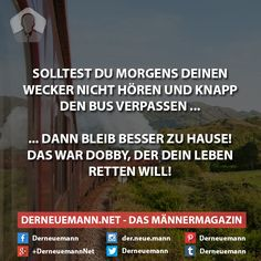 Wecker #derneuemann #humor #lustig #spaß #sprüche