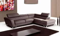 you're looking for something simple and smooth, this chocolate sofa ...