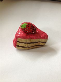 Painted cake rock ^^