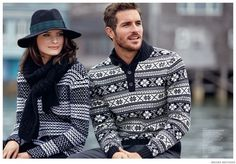 Brooks Brothers Features Mens Fair Isle Sweaters